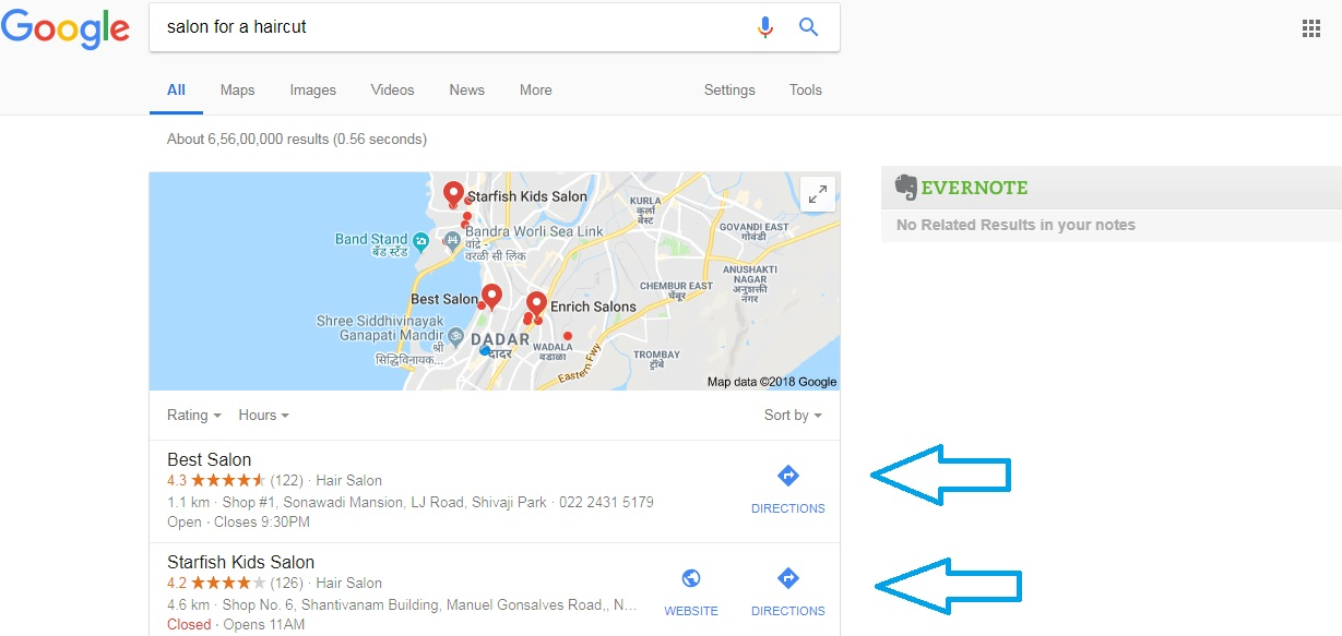 Google My Business to promote ecommerce website