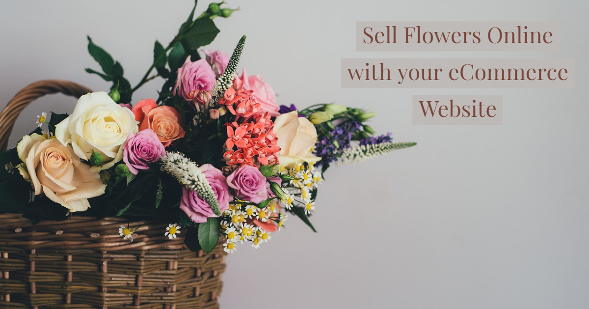 Sell flowers online