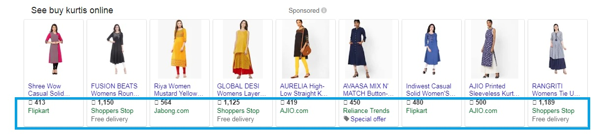 Goggle Shopping Ads